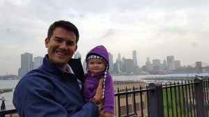 Maria takes her father on a tour of NYC