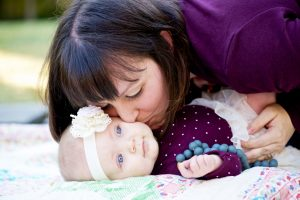 Amanda & baby Annabelle
